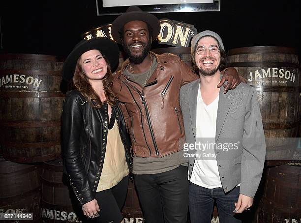 Grammy Award winner Gary Clark Jr and HONEYHONEY celebrate the launch of Jameson Music with a special performance by HONEYHONEY at The Down Out on...