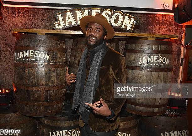 Grammy Award winner Gary Clark Jr celebrates the launch of Jameson Music with a special performance by The London Souls at Pianos in NYC