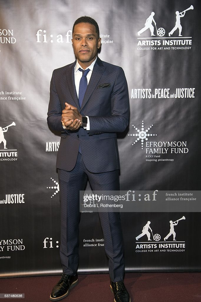 Grammy award winning musician Maxwell attends the French Institute Alliance Franaise and Artists for Peace and Justice 'Haiti Optimiste' event at Florence Gould Hall on June 1, 2016 in New York City.