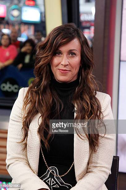 AMERICA Grammy Award winning singer/songwriter Alanis Morisette performs on GOOD MORNING AMERICA 11/2/15 airing on the ABC Television Network