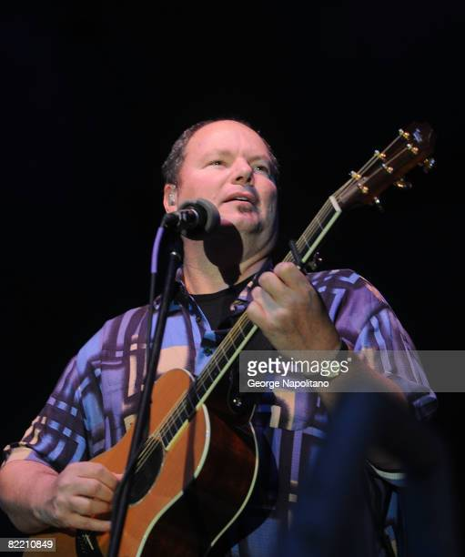 Grammy Award winning singersongwriter Christopher Cross performs during the 30th annual Seaside summer concert series at Asser Levy Park on August 7...
