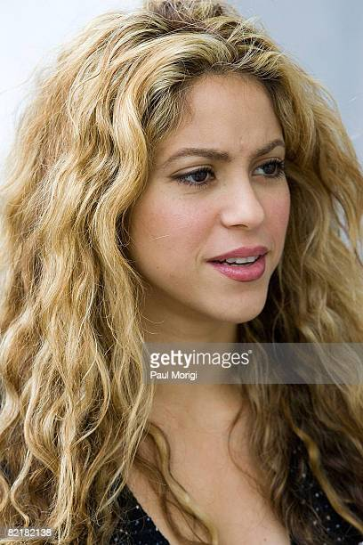 Grammy awardwinning artist Shakira joins Members of Congress and students at a Global Campaign for Education Action Week press conference at the...
