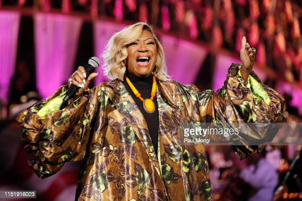 Grammy Awardwinning legend Patti LaBelle performs at the 2019 National Memorial Day Concert at US Capitol West Lawn on May 26 2019 in Washington DC