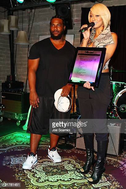 Grammy AwardWinning Producer And Billboard's RB/Hip Hop Producer Of The Year Polow Da Don and Singer Keri Hilson Host Behind The Beat at Thom Thom...