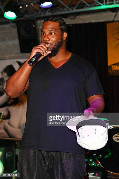 Grammy AwardWinning Producer And Billboard's RB/Hip Hop Producer Of The Year Polow Da Don Hosts Behind The Beat at Thom Thom Club on February 11 2011...