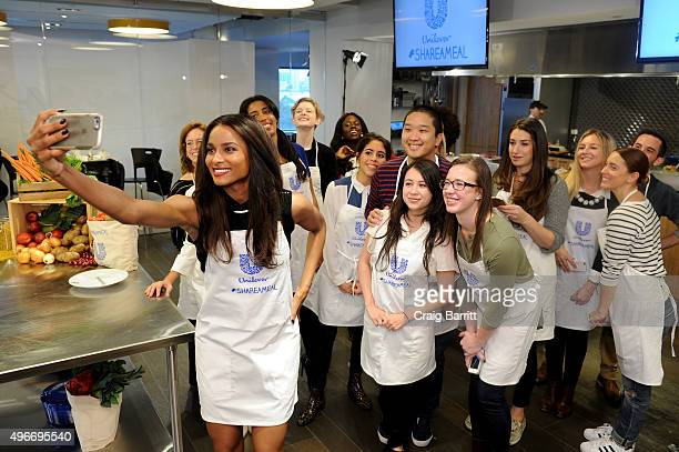 Grammy awardwinning Singer Ciara partners with Unilever and Feeding America to help 'Share A Meal' this holiday season to end child hunger on...