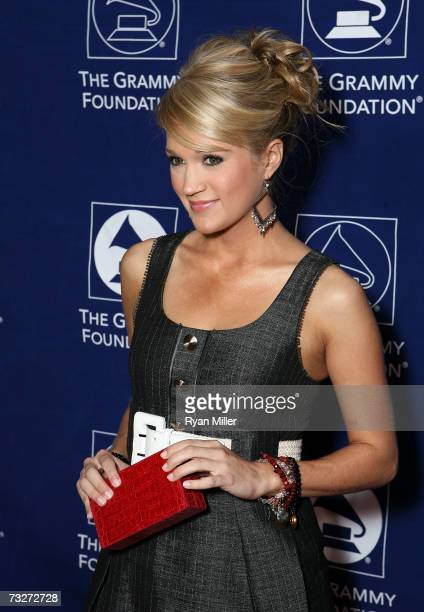 Grammy nominee Carrie Underwood arrives at the 9th The Soul of Country Annual Grammy Foundation Music Preservation Project held at the Wilshire Ebell...
