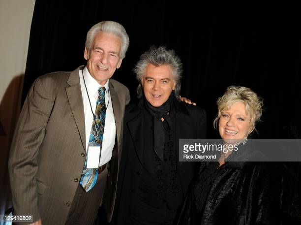 Grammy Nominee Del McCoury with Grammy Nominees/Husband Marty Stuart and Connie Smith attend the GRAMMY Nominee Party at the Loews Vanderbilt Hotel...