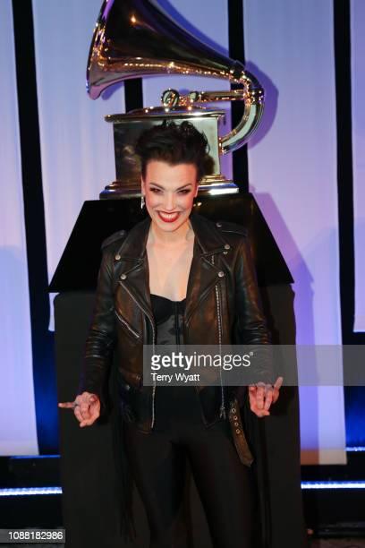 Grammy nominee Lzzy Hale attends the Nashville Chapter 61st Nominee Celebration on January 24 2019 in Nashville Tennessee