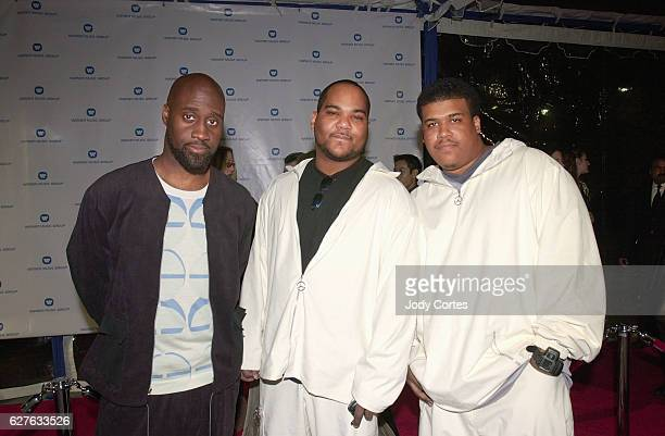 Grammy nominees De La Soul arrive at the Warner Brothers Grammy party
