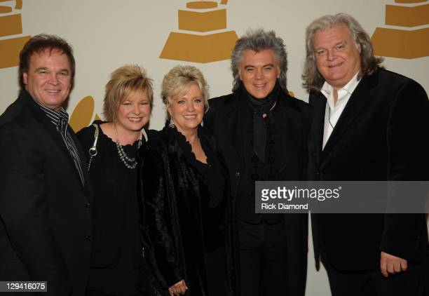 Grammy Nominees Jeff Sherri Easter Connie Smith Marty Stuart and Ricky Skaggs attend the GRAMMY Nominee Party at the Loews Vanderbilt Hotel on...