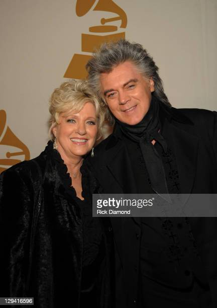 Grammy Nominees/Wife and Husband Connie Smith and Marty Stuart attend the GRAMMY Nominee Party at the Loews Vanderbilt Hotel on January 18 2011 in...