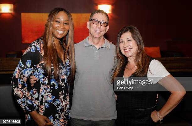 Grammy Texas Chapter President Yolanda Adams Dan Workman and Theresa Jenkins Executive director Recording Academy of Texas at the Craft Session...