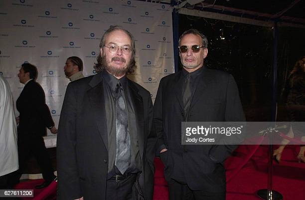 Grammy winners Steely Dan arrives at the Warner Brothers Grammy party