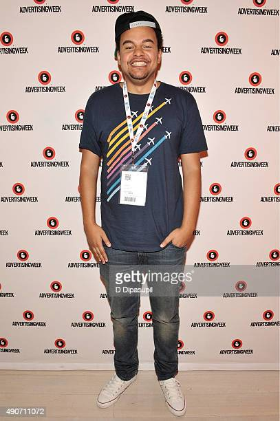 Grammy Winning Producer Alex da Kid poses at the Big in Content panel during Advertising Week 2015 AWXII at the Times Center Stage on September 30...