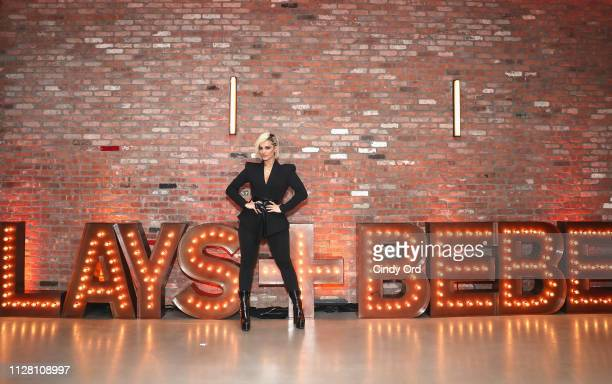 Grammynominated artist Bebe Rexha celebrates the launch of the Lay's Turn Up the Flavor program in New York City on February 27 2019 with a live...