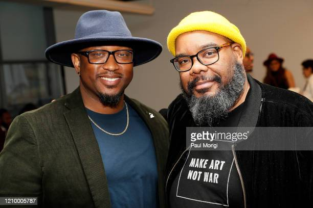 Grammys DC Chapter Executive Director Jeriel Johnson and Grammys DC Chapter Board Member Kokayi attend The Recording Academy Washington DC Chapter's...