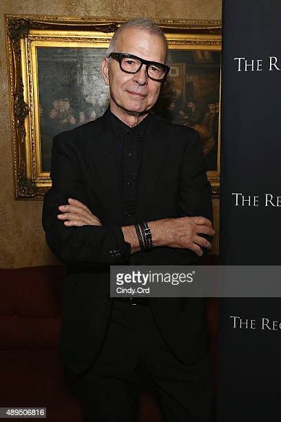 GRAMMYwinning Producer Arranger Recording Engineer Musician Tony Visconti attends GRAMMY Town Hall 'Creator's Rights the Future of Music' at The...