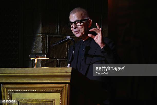 Winning Producer, Arranger, Recording Engineer, Musician, Tony Visconti speaks during GRAMMY Town Hall 'Creator's Rights & the Future of Music' at...