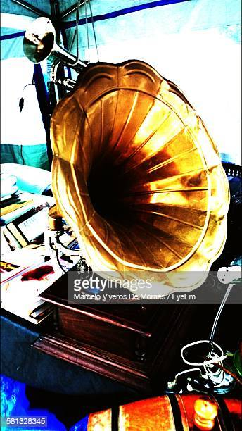 Gramophone On Table
