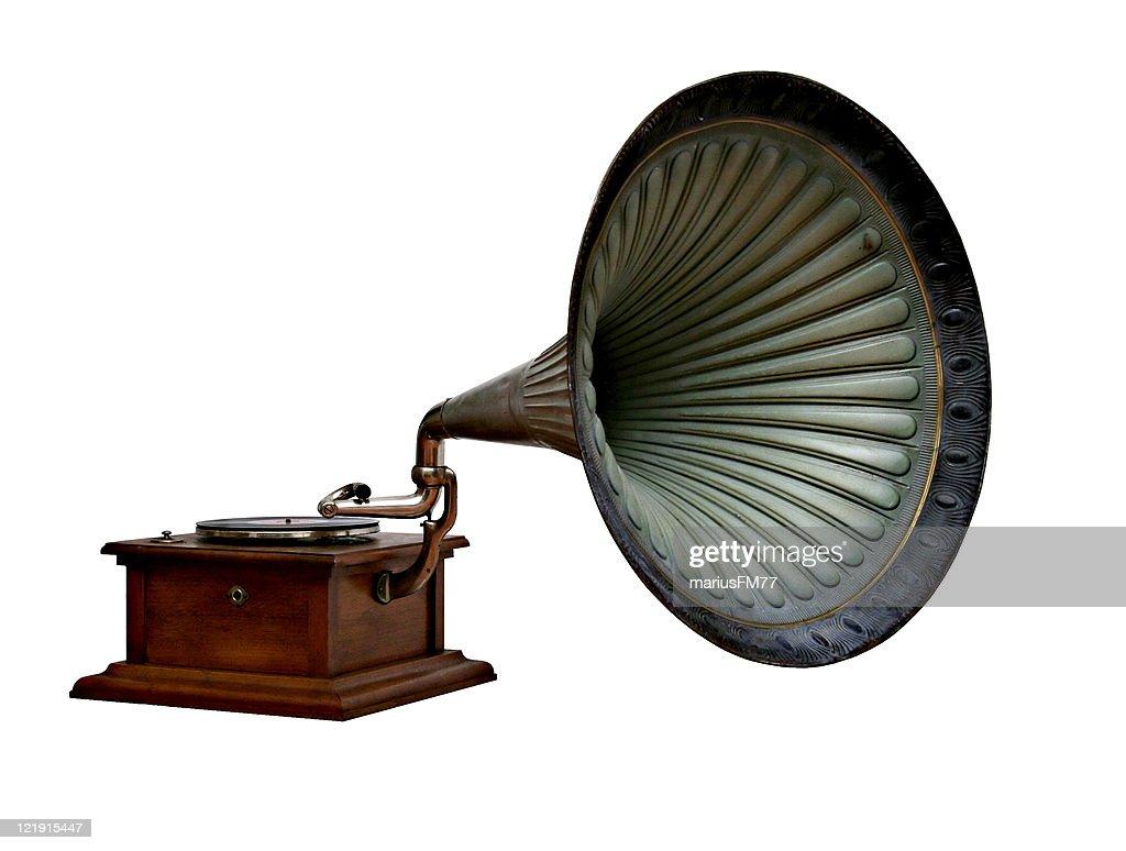 gramophone : Stock Photo