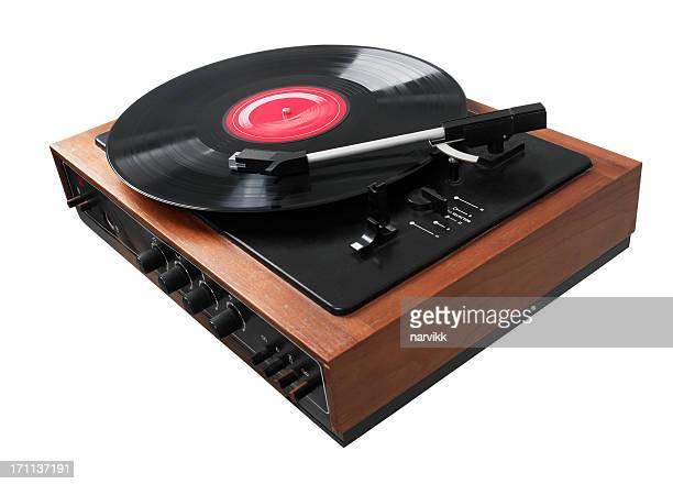 Gramophone Playing LP Disc