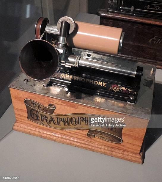 Gramophone Used for Cinema Sound This gramophone was owned by the Norwegian film pioneer and cinema director Hugo Hermansen Gramophones were used in...