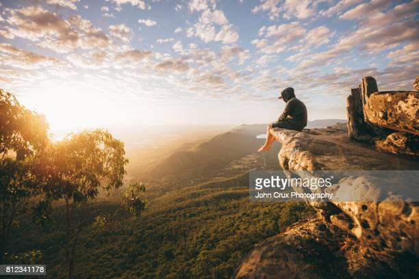 grampians national park - mountain peak stock pictures, royalty-free photos & images
