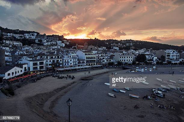Gran Beach in Tossa de Mar (Gerona)