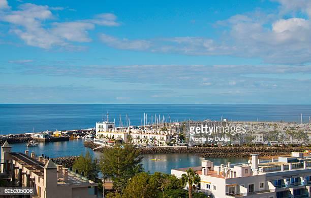 Gran Canaria Canary islands Spain Europe Mogan Puerto de Mogan sea holidays tourism