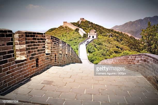 hdr gran muralla china - muralla stock photos and pictures
