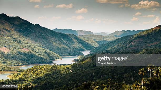 gran parque natural topes de collantes, cuba - sancti spiritus provincie stockfoto's en -beelden