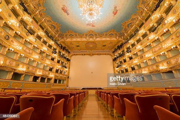 gran teatro la fenice - teatro de ópera - fotografias e filmes do acervo