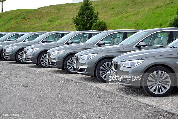 BMW 5 Gran Turismo in a row