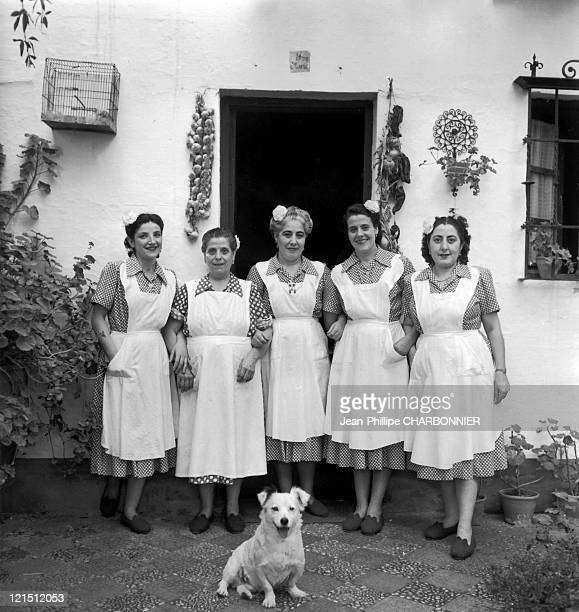 Granada Authentic Spanish Maids The Servants Of The Duchess Of Lecera An Admirable Woman Like A Toreador She Made Me A Gift Of Gold Cufflinks I Hate...