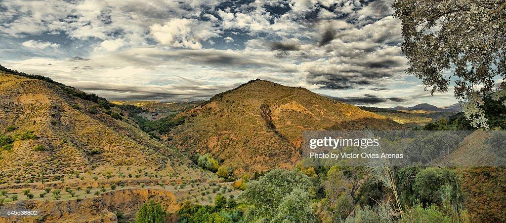 Granada outdoors : Foto de stock