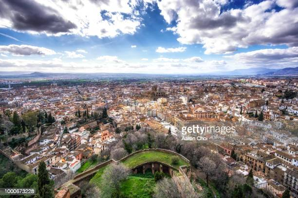 Granada viewed from Alhambra