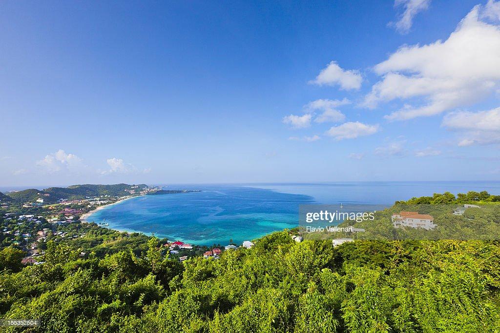 Grand Anse Bay, Grenada : Stock Photo