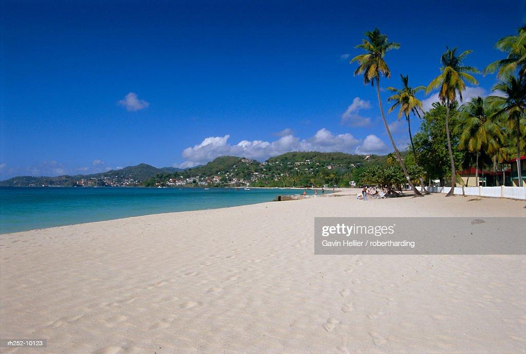 Grand Anse beach, Grenada, Windward Islands, West Indies, Caribbean, Central America : Stockfoto