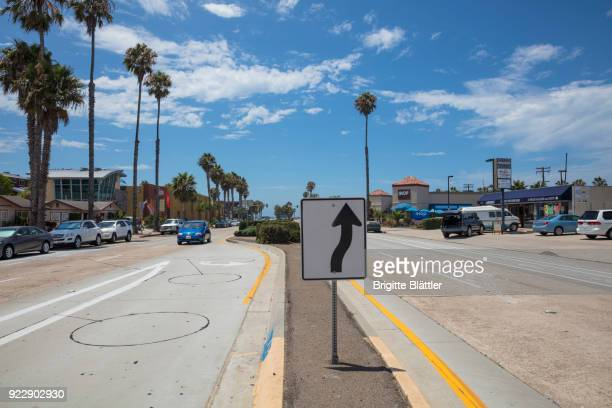 Grand avenue in San Diego, California