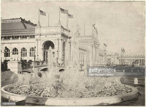 Grand Basin Electricity Building World's Columbian Exposition Chicago Illinois 1896