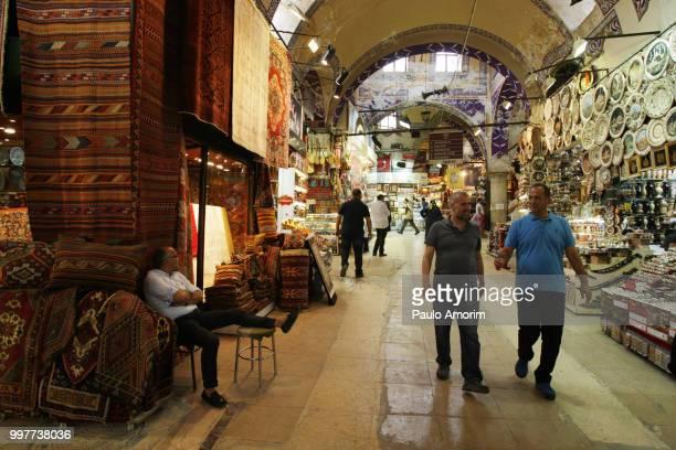 Grand Bazaar in Istabul,Turkey