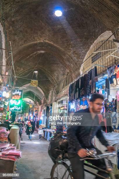 grand bazaar, isfahan, iran - エスファハーン グランドバザール ストックフォトと画像