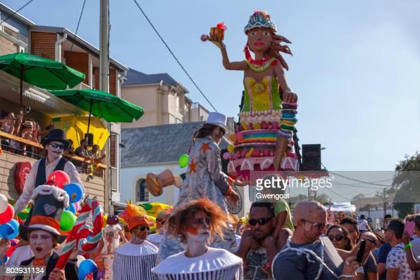 grand boucan carnival - gwengoat foto e immagini stock