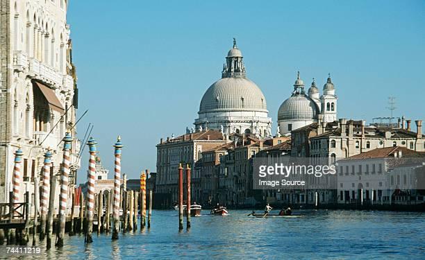 Grand canal and santa maria della salute venice