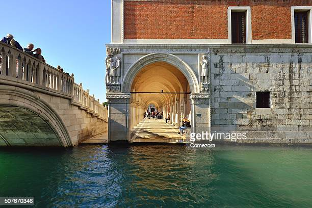 Grand Canal, Bridge and Doges palace, Venice, Italy