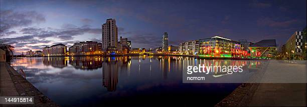 grand canal dock - dublin stock pictures, royalty-free photos & images
