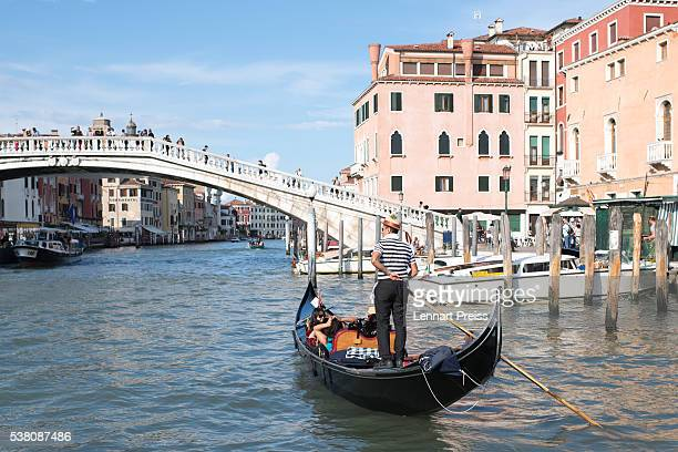 Grand Canal of Venice ahead of the Challenge Triathlon Venice on June 4, 2016 in Venice, Italy.