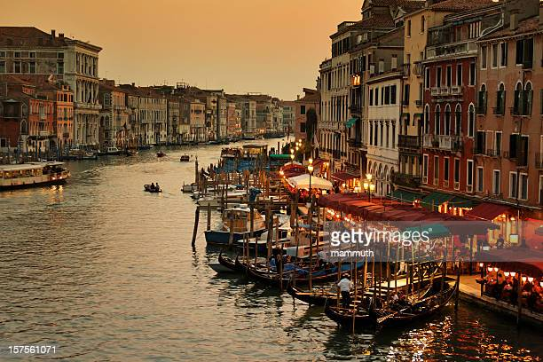 Grand Canal of Venice at twilight