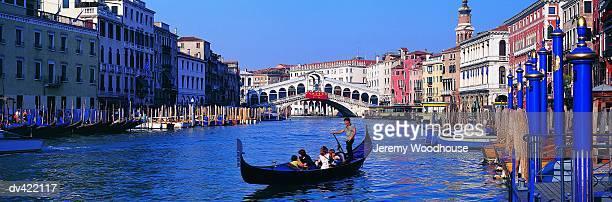 Grand Canal, Rialto Bridge, Venice, Italy